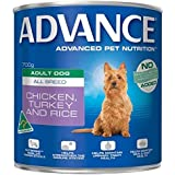 Advance Adult Chicken Turkey & Rice 700g Dog Wet Food