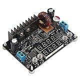 DROK Numerical Control Voltage Regulator DC 6-40V to 0-32V 5A Buck Converter, 24V 12V to 5V Constant Voltage Current Step Down Adjustable Output Power Supply