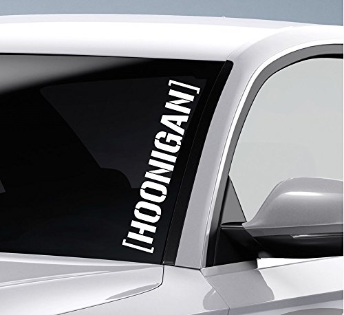 2 x hoonigan –  JDM DUB 55 cm (Color a elegir) Decal Tuning Pegatina para coche moto Pick Up Factor RS