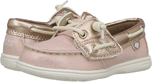 Price comparison product image Sperry Girl's Kids, Shoresider Jr Boat Shoes Blush 7 M