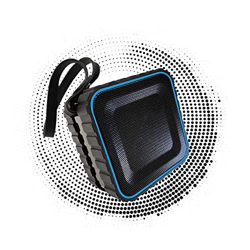 Amazon Com Portable Bluetooth 4 1 Speaker Ipx5 Waterproof With Bass