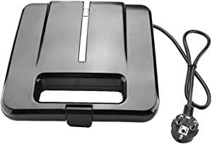 Fully Automatic Panini Grill, 750w Toaster, Sandwiches for Homemade Breakfast Kitchen(European regulations 220-240V)