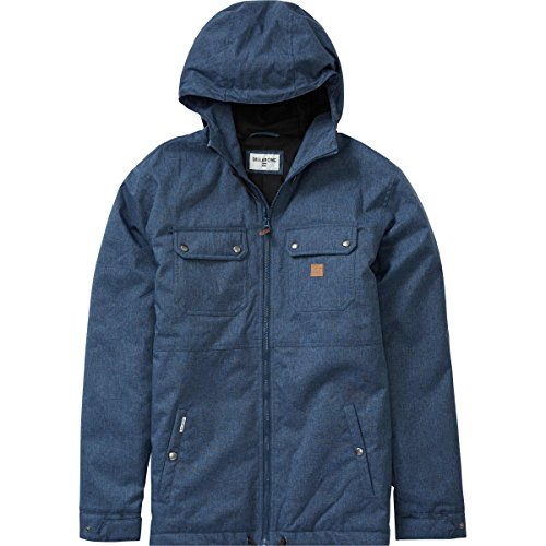 Billabong Men's Matt Jacket, Navy Heather, L by Billabong