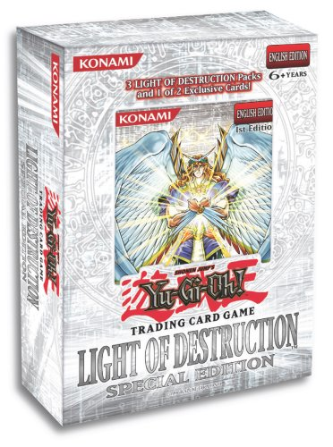 Yu Gi Oh! Light of Destruction Special Edition Pack Destruction Special Edition Pack