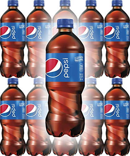(Pepsi Soda, 20oz Bottle (Pack of 10, Total of 200 Fl Oz))
