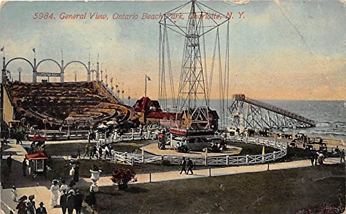 - Charlotte, New York, NY, USA Postcard General View, Ontario Beach Park 1912 Missing Stamp