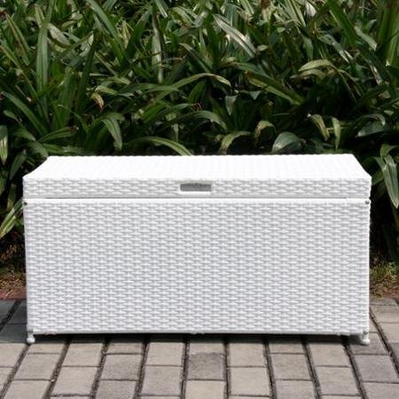 All Weather White Wicker - 40