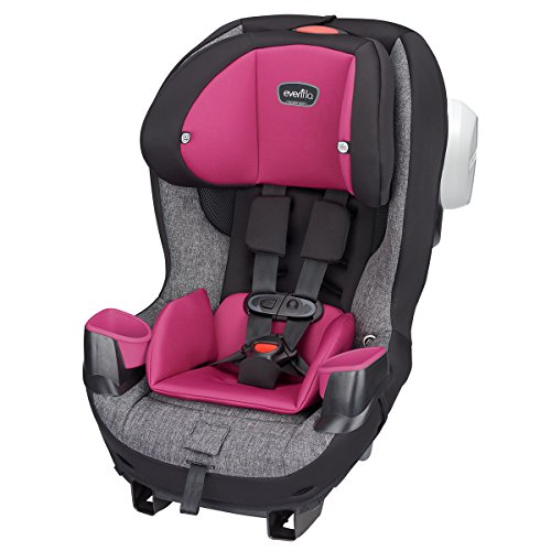 Car Booster Seat Reclining (Evenflo Stratos 65 Convertible Car Seat, Juliana Tweed)