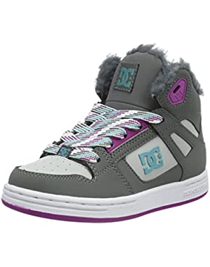 Grey-Blue-Blue Rebound Winter Kids Shoe