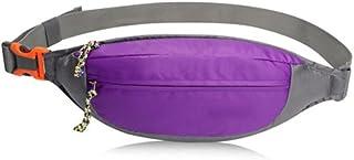 OOFWY Sac à bandoulière Résistant à l'eau Fanny Pack Travel Bum Bag Courroie de Course pour Le Voyage Cyclisme Randonnée Camping