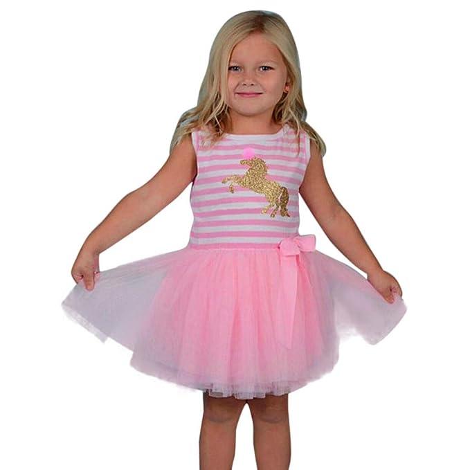 Amazon.com: Venta de niños y niñas de 2018, vestido de ...