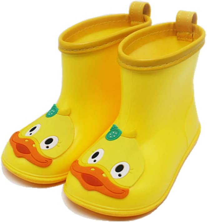 Baby Rubber Rain Boots Kids Waterproof