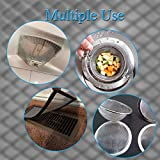 4PACK Stainless Steel Woven Wire Mesh Never
