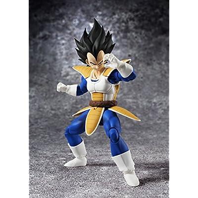 TAMASHII NATIONS Bandai S.H. Figuarts Vegeta Dragon Ball Z Action Figure: Toys & Games