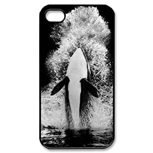 LTTcase Customised Dolphin Case for iphone 4,4s