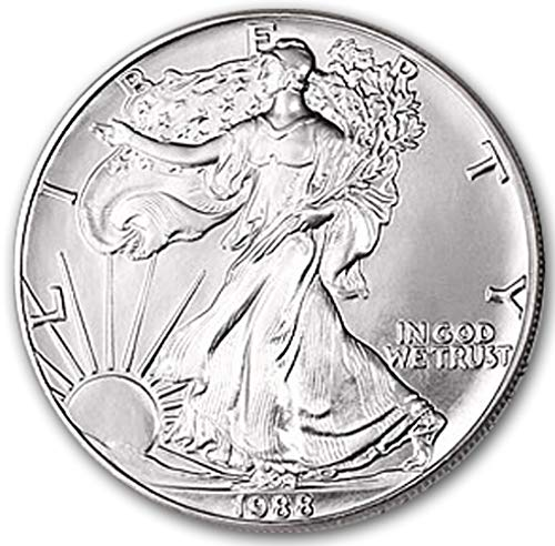 1988 American Silver Eagle $1 Brilliant Uncirculated US Mint