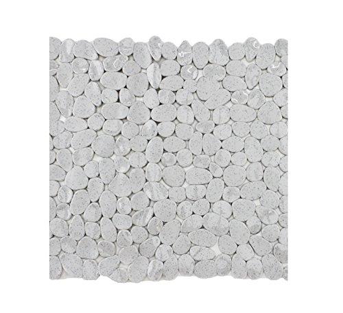 Badewanneneinlage Duscheinlage Duschmatte in Steinoptik - Melange - ca. 53 x 53 cm - von Brandseller