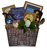Remembering with Love Sympathy Gift Basket - Standard