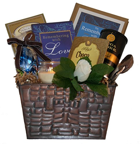 Remembering with Love Sympathy Gift Basket – Standard