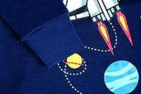 Boys Rocket Pajamas Children Christmas Pants Set 100% Cotton Size 2-7 Years