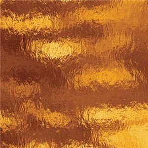 Spectrum Amber Cathedral Rough Rolled Stained Glass Sheet – 8″ X 12″ (.67sf)