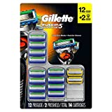 Gillette Fusion5 Proglide Cartridges, 12 Proglide & 2 Proshield (14 ct.)