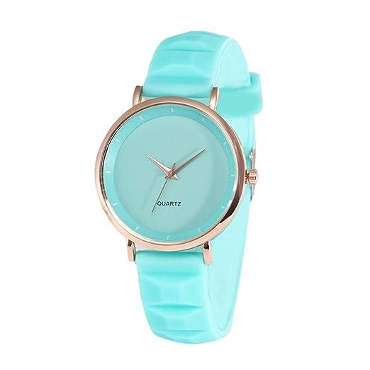 DAYLIN Reloj para Niños Niñas Reloj Pulsera Deportivo de Cuarzo Analógicos para Chicas Joyas Regalos Wrist Watch for Girl (Negro/Blanco/Azul/Rosa/Morado): ...