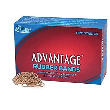 Amazon.com : Alliance Rubber 26165 Advantage Rubber Bands Size #16 ...