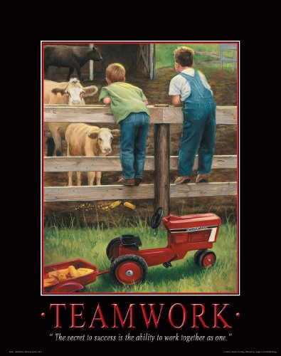 Case Tractor Posters : Farmall case ih tractor motivational poster art print