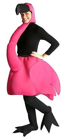 Amazon.com: Std Size Adult Lawn Flamingo Costume - Funny Halloween ...