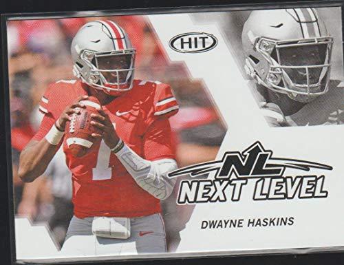 2019 Sage Hit Dwayne Haskins Redskins Next Level Rookie Football Card #62