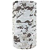 ZANheadgear TF198 Fleece Lined Motley Tube, Winter Camo