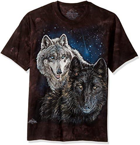 The Mountain Men's Star Wolves T-Shirt