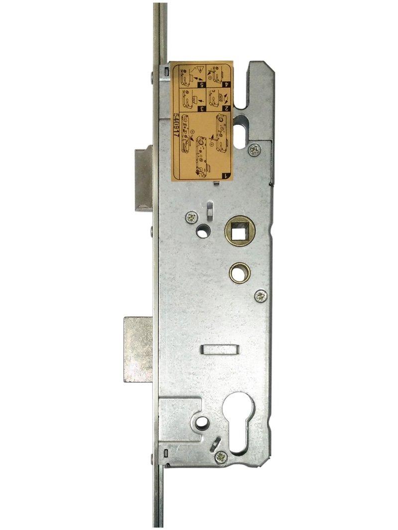 KFV para puerta cerradura multipunto 2 gancho 45 mm mandril ...