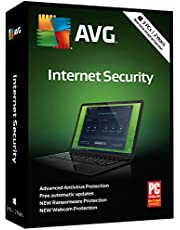 AVG Technologies Internet Security 2018, 2 Years [KEY CARD] (3-Users)