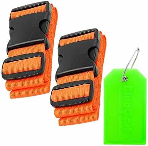 018efe87c265 Shopping BlueCosto - Oranges - 4 Stars & Up - Luggage Straps ...