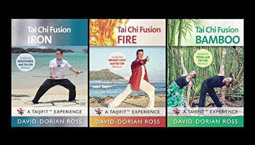 Bundle: Tai Chi Fusion: 3-DVD set by David-Dorian Ross (YMAA) Yoga, Qigong, Tai Chi, Weight Loss Workouts **BESTSELLER**