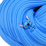 2 Pack Butter Slime Kit, with Blue Stitch Slime and Lollipop Candy Slime, Super Soft ,Stretchy and Non Sticky DIY Sludge Slime Toy for Girls and Boys