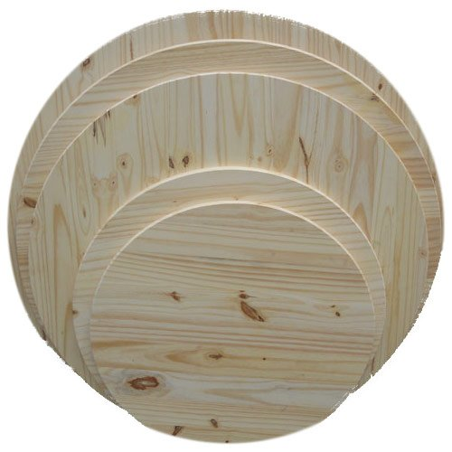 Allwood 5/4'' (1.25'') x 36'' Round Table Top, Pine Round Panel