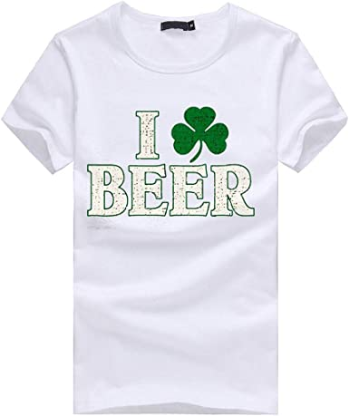 Shamrock Boobies Irish St Patricks Day Funny T Shirt Irish Paddy Top Ireland
