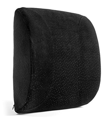 Aeris Queen Size Memory Foam Lumbar Pillow - 25