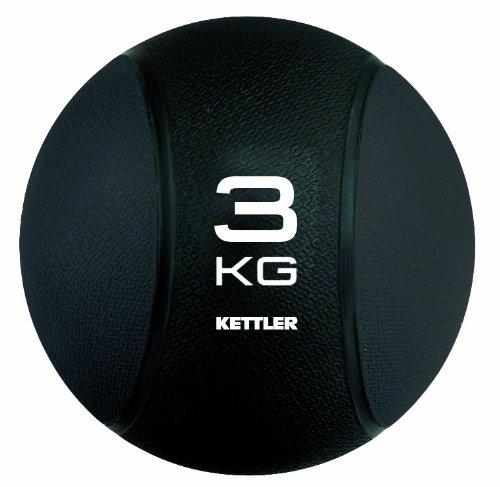 Kettler Medizin Ball Balón medicinal hasta kg kg color negro talla kg