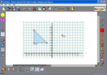 Amazon.com : InterActive Math Toolbox: Shapes & Space Tools ...