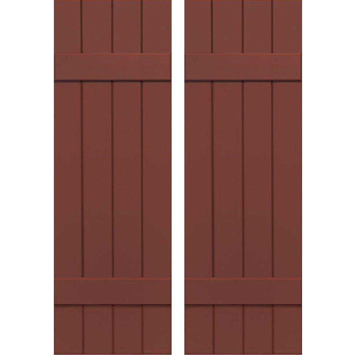 Ekena Millwork CWB15X049RWC Exterior Four Board