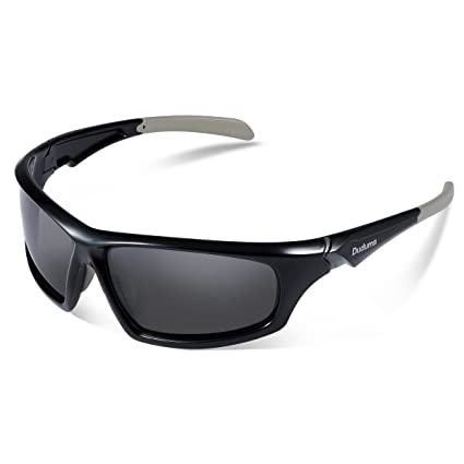796ca2b31d2 Duduma Tr601 Polarized Sports Sunglasses for Baseball Cycling Fishing Golf  Superlight Frame (639 Black frame with black lens)  Amazon.ca  Sports    Outdoors