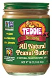 Teddie All Natural Peanut Butter, Smooth, 16-Ounce Jar (Pack of 4) Review