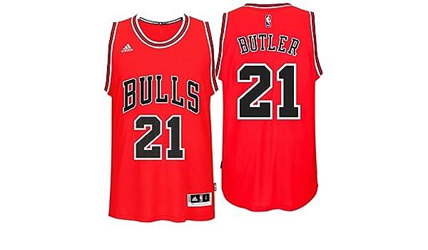 : Jimmy Butler Chicago Bulls Adidas Road Swingman