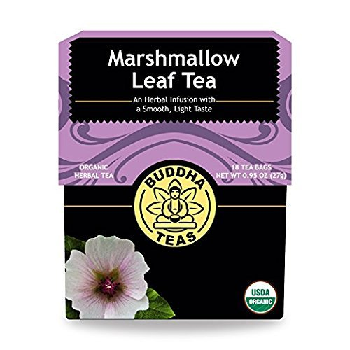 (Marshmallow Tea - Organic Herbs (2 Pack) - 36 Individual Bleach Free Herbal Tea Bags)