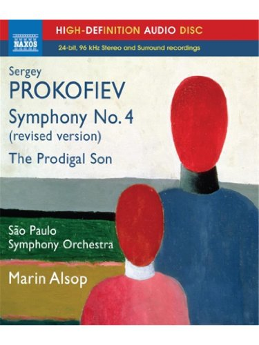 Marin Alsop - Symphony No 4 / Prodigal Son (Blu-ray Audio)