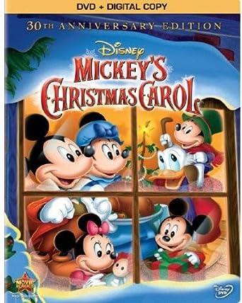 Mickeys Christmas Carol 1983.Mickey S Christmas Carol 30th Anniversary Edition Dvd 1983